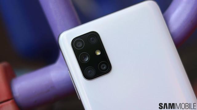 هاتف Galaxy A72 يظهر كأول هاتف يحمل خمس كاميرات من سامسونج