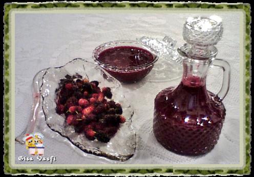 Geleia e calda de frutas vermelhas 2