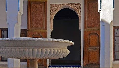 قصر الباهية المغرب مدينة مراكش