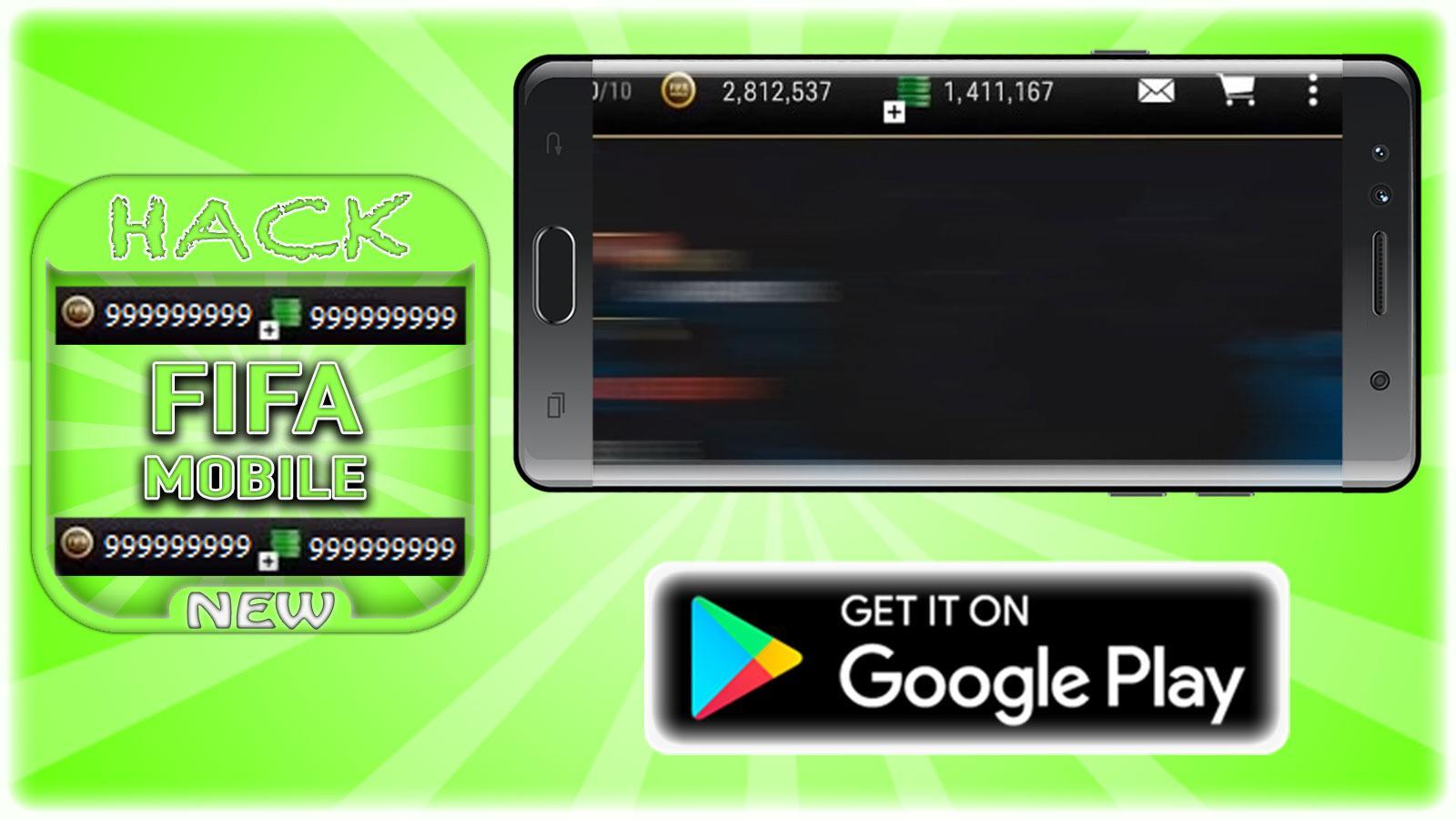 hack for fifa mobile game app joke prank android apps on hack for fifa mobile game app joke prank screenshot