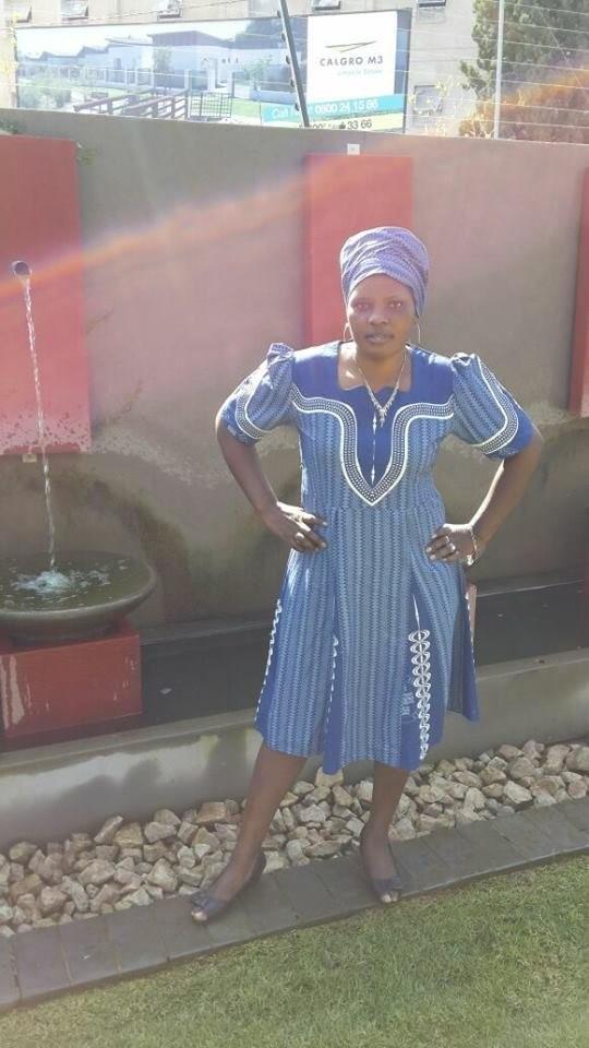 Fantastic Traditional Shweshwe Dresses Styles 1