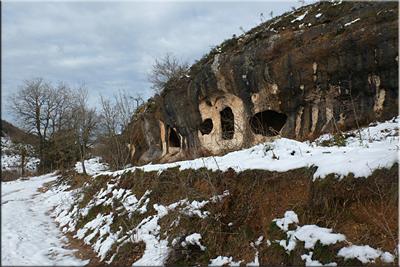 Cuevas eremíticas - Markinez (Araba)