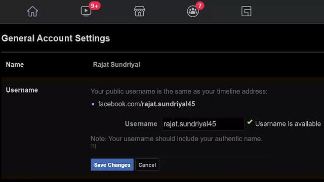 Social Media Handles Facebook