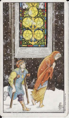 5 Five Of Pentacles V
