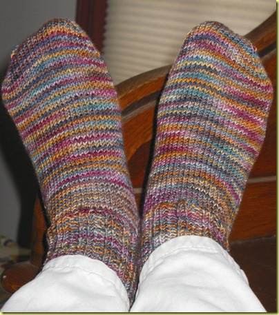 Koigu Brown Socks