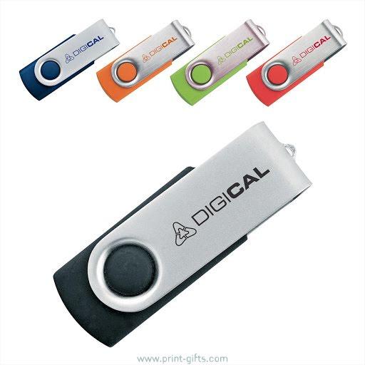 Custom Printed Twister USB Flash Drive