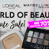 WORLD OF BEAUTY L'OREAL RAYA PRIVATE SALE 2021 | 23 APRIL 2021 - 05 MAY 2021