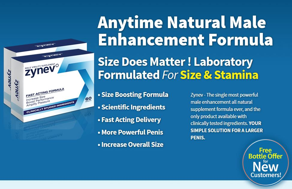 zynev male enhancement pills review