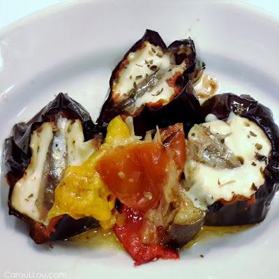 CarouLLou.com Carou LLou in Venice Italy eggplant parmigiana +
