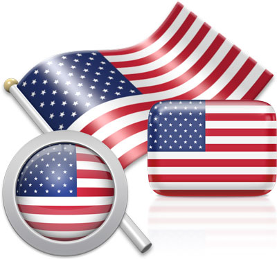American flag icons pictures collection