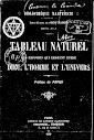Tableau Naturel (Preface de Papus) (1900,in French)