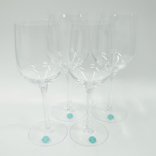 Tiffany & Co.Set 4 Wine Glasses