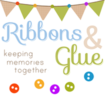 Ribbons & Glue Blog Button