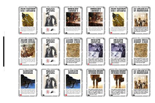 Death Mesa 18 x 12 Cardsheet #2