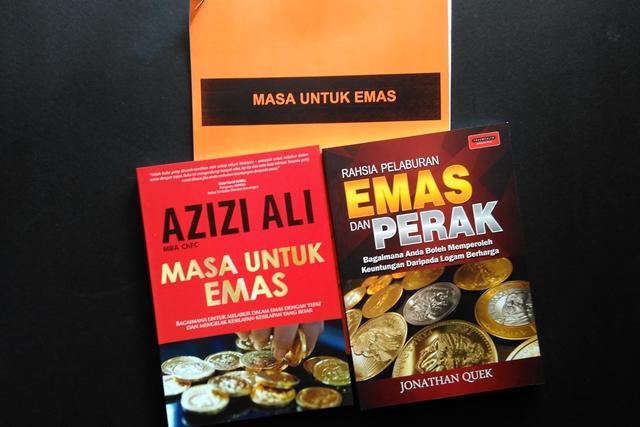 buku bacaan Masa Untuk Emas dan Rahsia Pelaburan Emas dan Perak