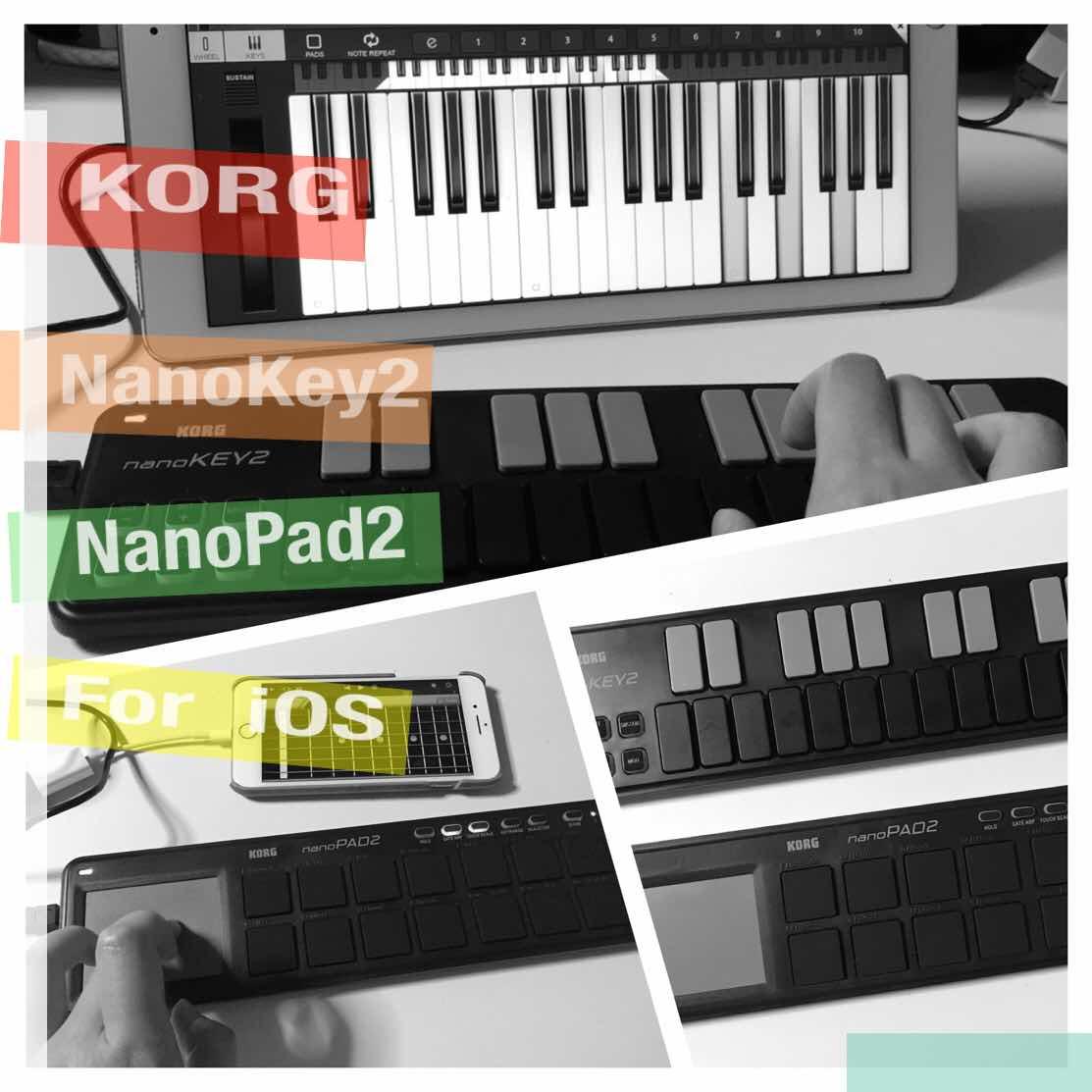 KORGNanoKey・Pad2イメージ