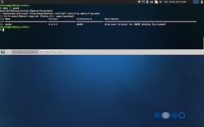 Guake running on Xubuntu