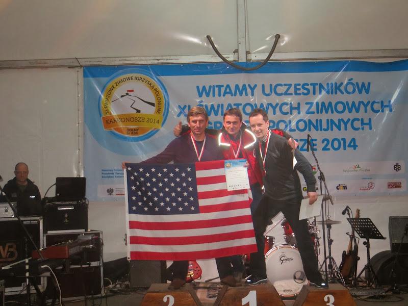 Srebrny medal Andrzeja Krygowskiego z USA na drugim dystansie Nordic Walking