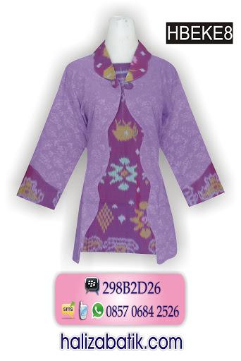 model baju batik modern, model baju batik kerja, grosir busana
