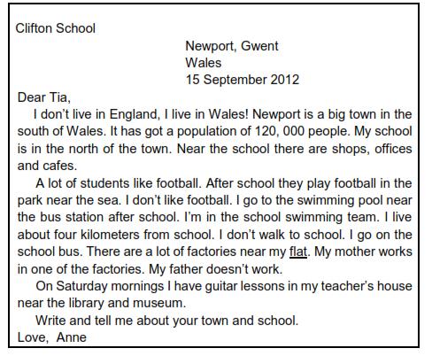 contoh teks Personal Letter
