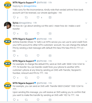 Lady Who Mistakenly Bought N15K Airtime Gets Disappointing Reply from MTN