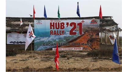 Toyota Gazoo Racing (TGR) - Fast Fun Fest Thrills at the 8th Hub Rally