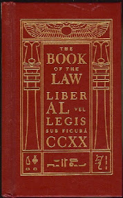 Cover of Aleister Crowley's Book The Book Of The Law