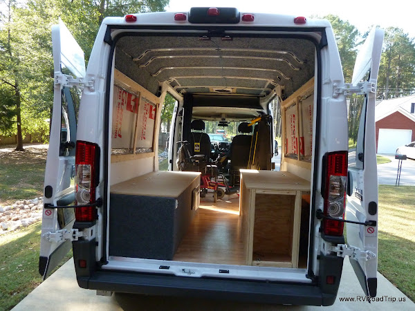 ProMaster Conversion Beds