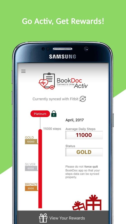 BookDoc - Go Active Get Reward- screenshot