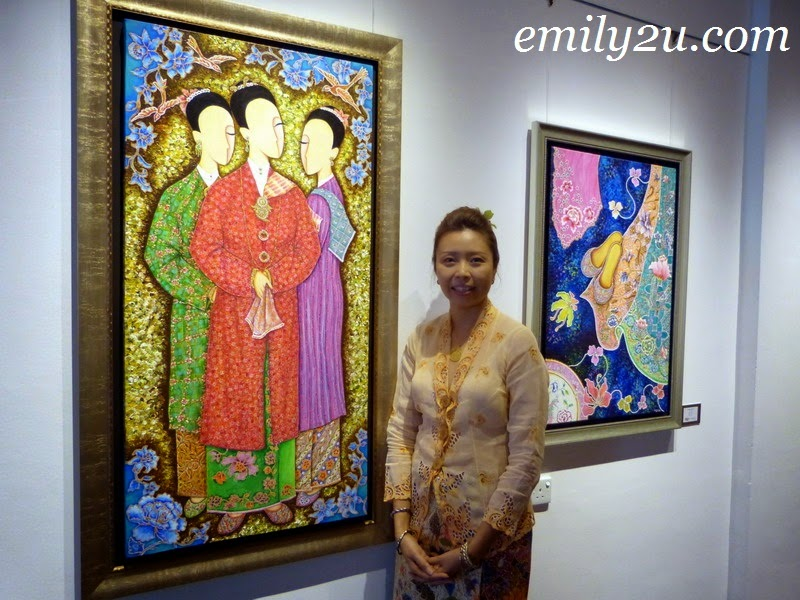 """A Nyonya Affair"" - Solo Art Exhibition by Sherin Ng"