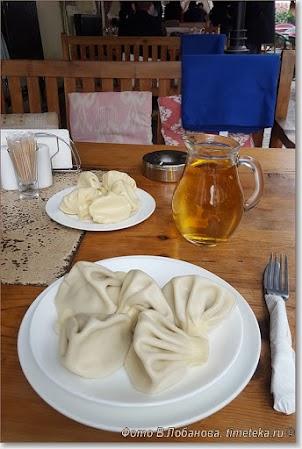 грузинский обед