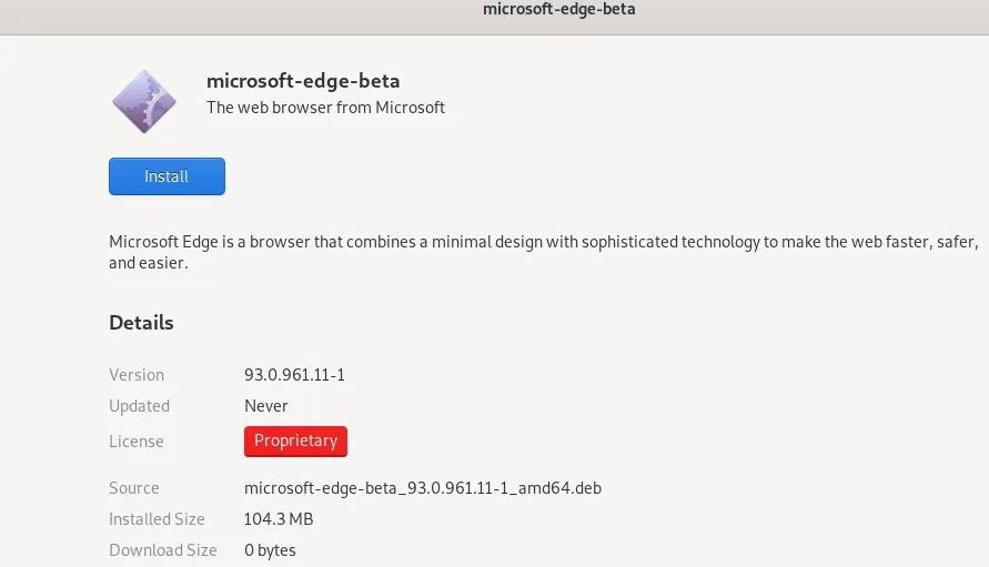 قم بتثبيت Edge Process