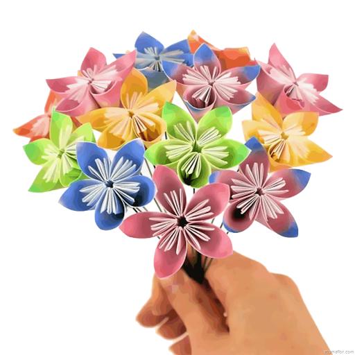 Flor-de-papel-facil-manualidades