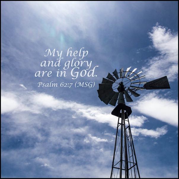 Week 8 Psalm 62v7