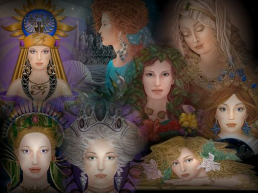 Roman Goddesses, Gods And Goddesses 1