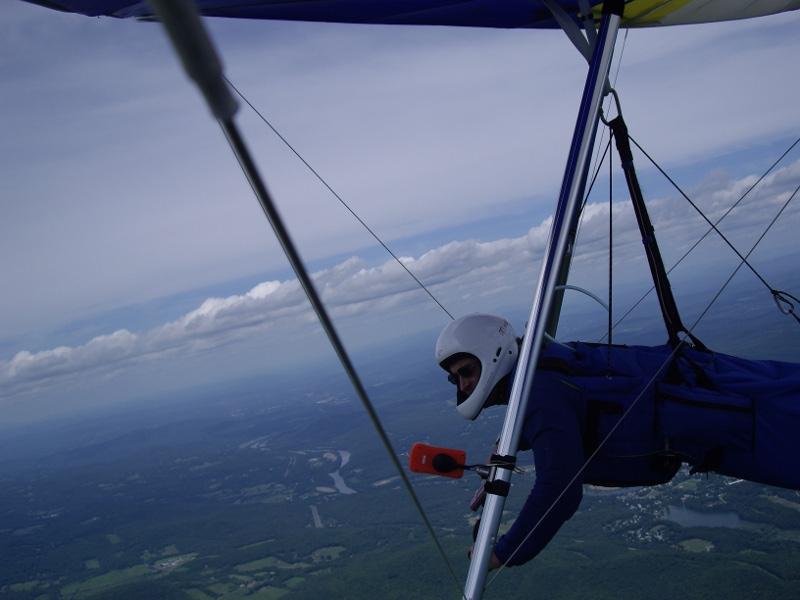 Me, airborne