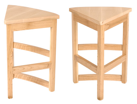 Barcelona Barstools in Natural Cherry and Maple