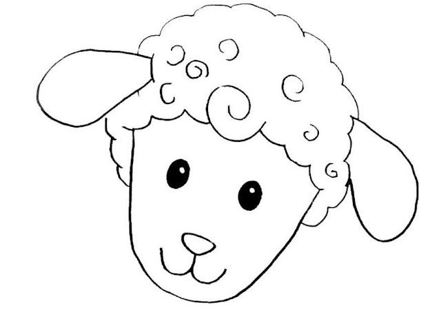 Moldes de oveja en foami - Imagui