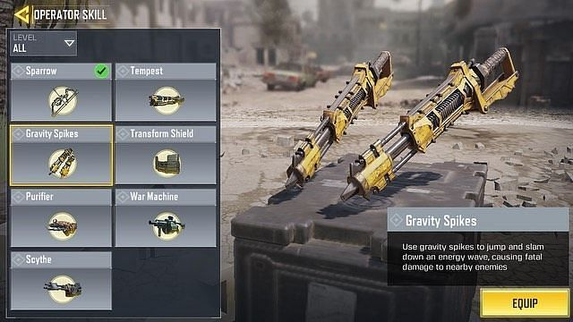 COD Mobile'da Gravity Spike'lar nasıl alınır?
