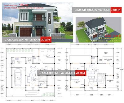 Rumah Modern Minimalis 2 Lantai Di Bali Jasa Desain Rumah