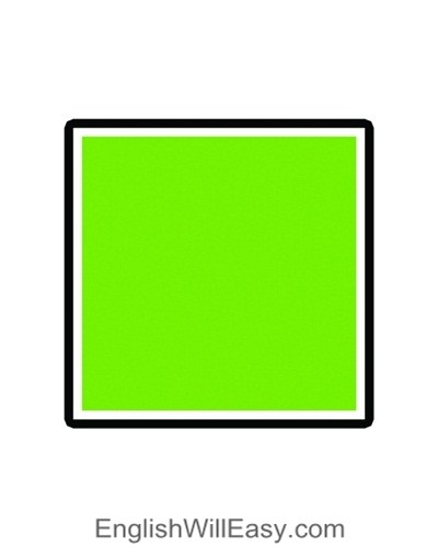 square <!  :en  >Measurements, Geometric shapes, Area and Volume Formulas<!  :  > english through pictures mathematic vocabulary