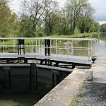 Canal du Loing : écluse de la Vallée