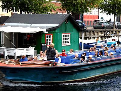 Boat in Copenhagen Denmark