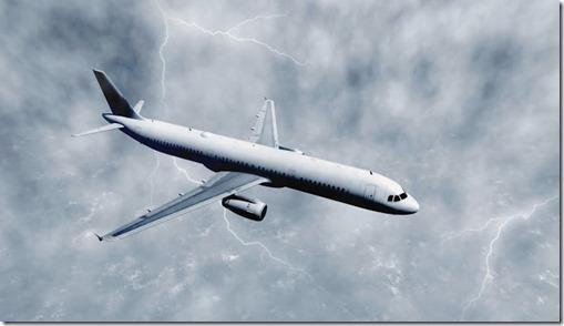 AviãoTempestade
