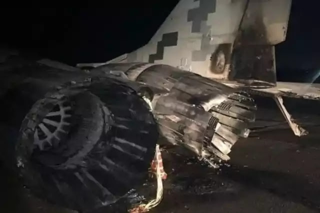 Ukrainian MiG-29 Damaged After Drunk Officer Rams Car into Jet