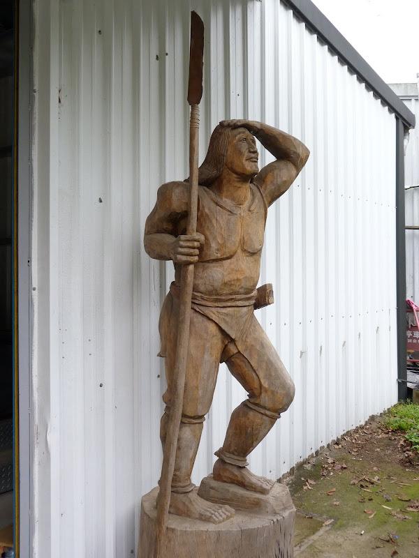 Chez un sculpteur