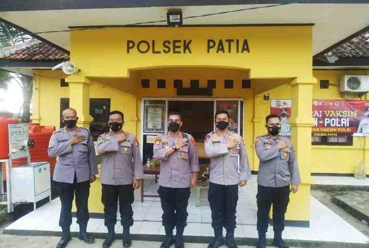 Lakukan Monitoring di Wilayah Hukum Polsek Patia, Dirpamobvit Polda Banten Imbau Personel Pengamanan Bersikap Netral