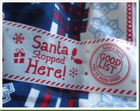 Santa Stopped Here