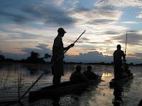 Mokoro Ride - Okavango Delta, Botswana