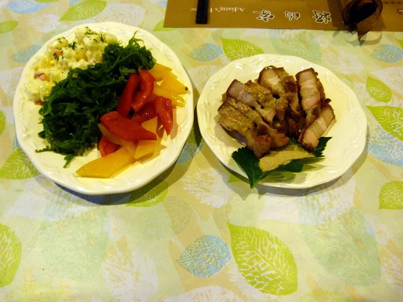 Une partie du dîner